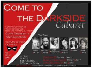 Come to the Dark Side Cabaret
