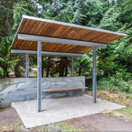 Creative Grounds Bus Shelter