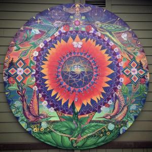 Hannah's Garden Mural