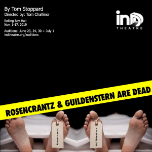 Auditions: Rosencrantz and Guildenstern are Dead