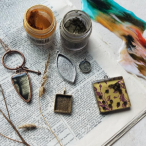 Getting Real with Resin Jewelry Class