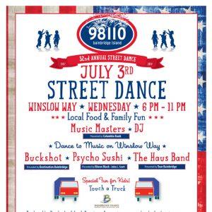 July 3rd Street Dance