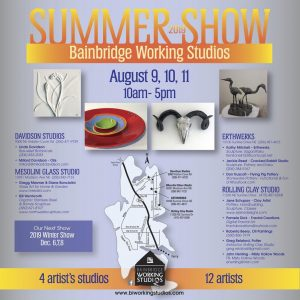 Bainbridge Working Studios Summer 2019 Tour