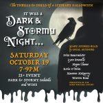 Dark & Stormy Night, A Literary Event
