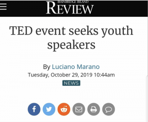Call for Youth Speakers