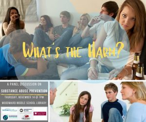 What's the Harm? (A Substance Abuse Prevention Panel)
