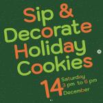 Pegasus: Sip & Decorate Holiday Cookies