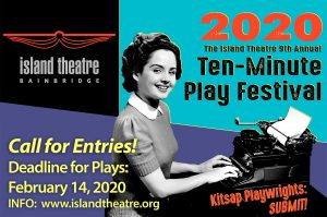 Accepting play submissions for Island Theatre Ten-...
