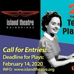 Accepting play submissions for Island Theatre's Ten-Minute Play Festival