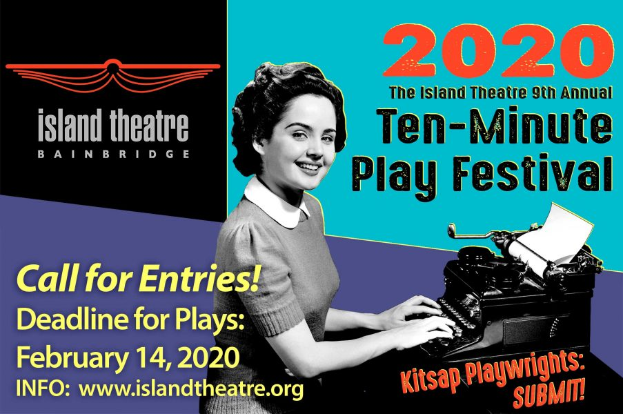 Accepting play submissions for Island Theatre's Te...
