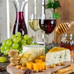Wine on the Rock: Wine & Cheese