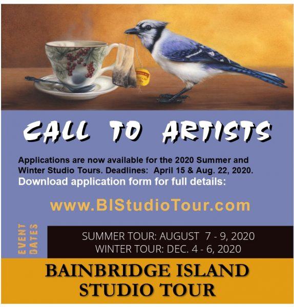 Call to Artists, Bainbridge Island Studio Tour