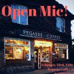 Pegasus presents: Open Mic