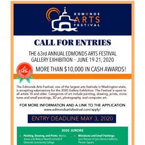 Edmonds Art Festival Call for Entries
