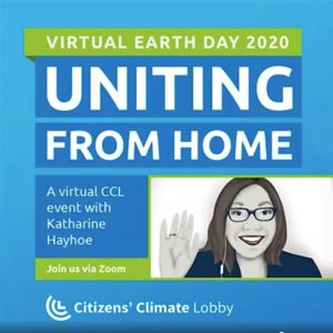 Uniting from Home - a virtual Earth Day Event