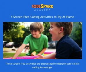 5 Screen-Free Coding Activities to Try At Home