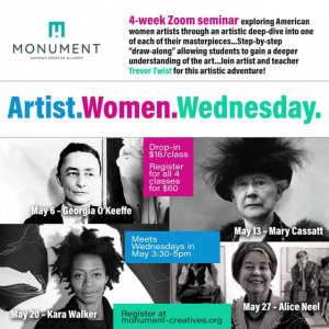 Artist. Women. Wednesday