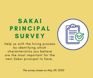 BISD: Sakai Principal Survey