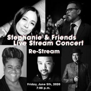 Stephanie & Friends Live Re-stream!