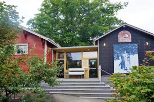 Bainbridge Island Historical Museum at the Library...