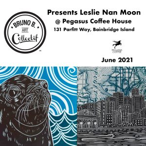 Bruno B. Art Collectif presents Leslie Nan Moon