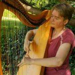 Folk Harp Livestream by Emily Groff