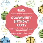 Community Birthday Party