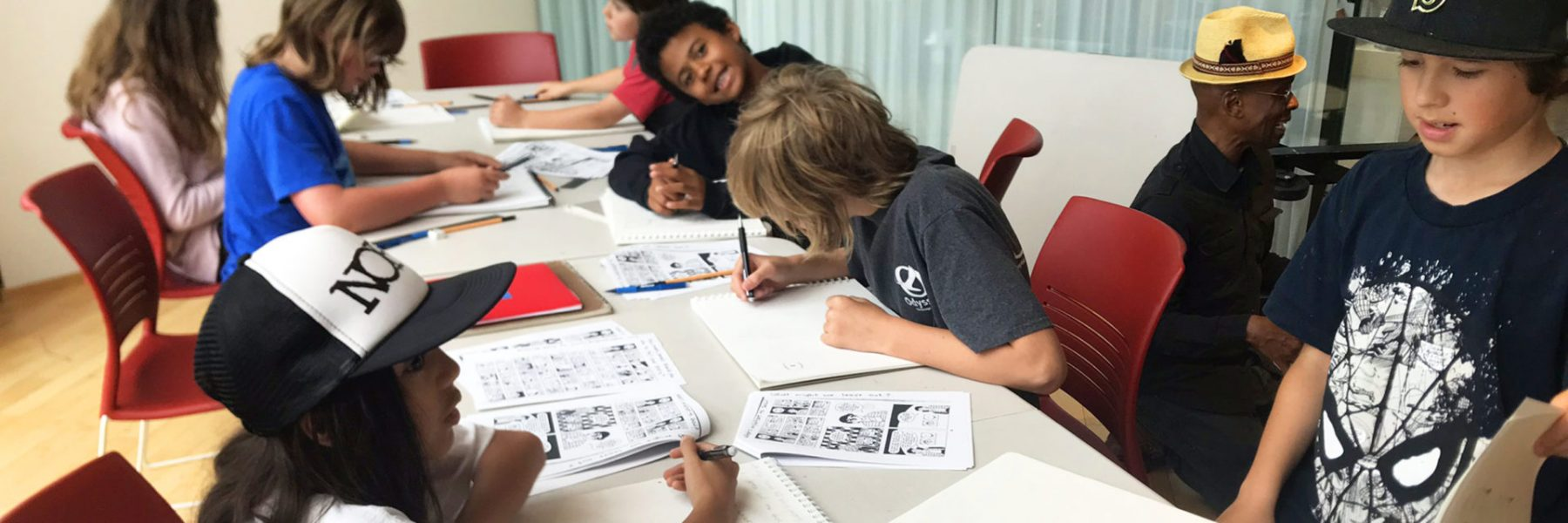 Comics: Words & Pictures Summer Camp