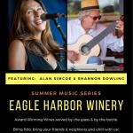 Summer Music Series at Eagle Harbor Winery